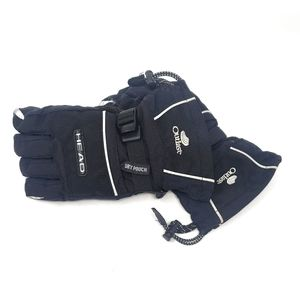 Head | Black Waterproof Dry Touch Gloves Large GUC